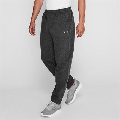 Slazenger OH Fleece, spodnie męskie, grafitowe