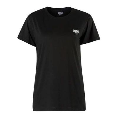 Tapout Crew, T-shirt damski, czarny
