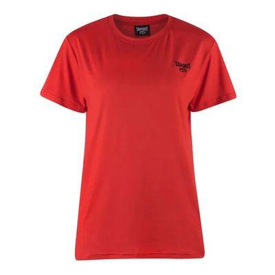 Tapout Crew, T-shirt damski, czerwony