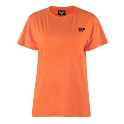Tapout Crew, T-shirt damski, pomarańczowy