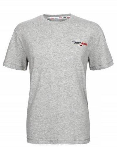 Tommy Hilfiger Jeans, T-Shirt męski CZY, szara