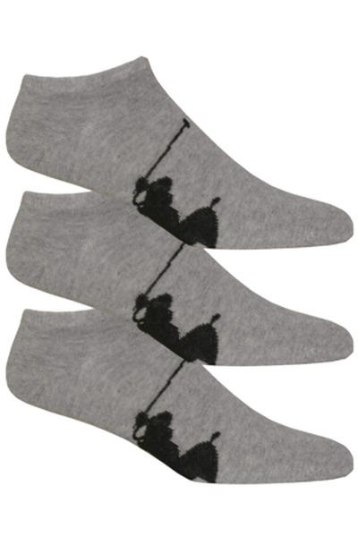 Polo Ralph Lauren skarpety męskie 3 szt. szare