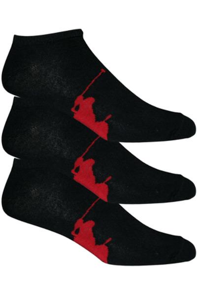 Polo Ralph Lauren skarpety męskie 3 szt. czarne