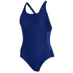 Adidas Infinitex Fitness Eco, strój kąpielowy, ciemnoniebieski,