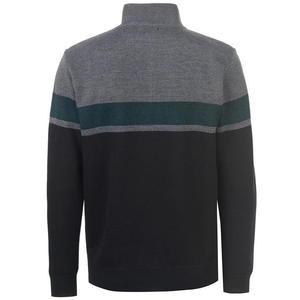 sweter szaro-grafitowy widok z tyłu