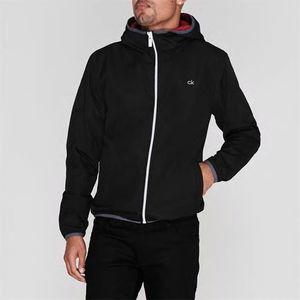 Calvin Klein Golf, kurtka męska, czarna widok z przodu