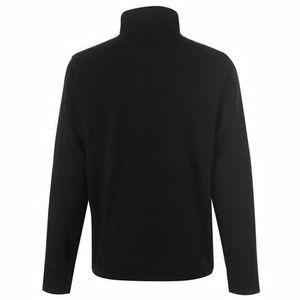 sweter czarny widok z tyłu