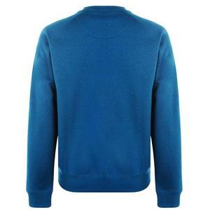Bluza niebieska widok z tyłu