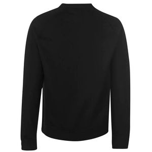 Bluza czarna widok z tyłu