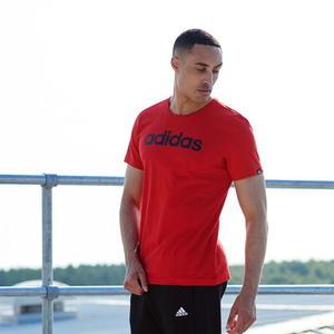 koszulka czerwona adidas