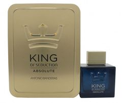 Antonio Banderas King of Seduction Absolute dla mężczyzn 100ml  Collector's Edition