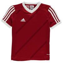 Adidas Tabe 14 Jersey koszulka dla chłopców, czerwona