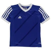 Adidas Tabe 14 Jersey Junior koszulka dla chłopców, niebieska