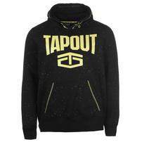 Tapout Splatter bluza z kapturem, czarna