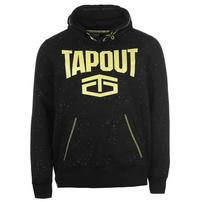 Tapout Splatter bluza z kapturem, czarna, Rozmiar S