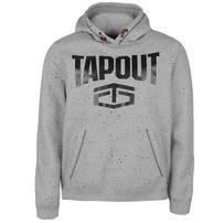 Tapout Splatter bluza z kapturem, szara, Rozmiar M