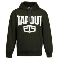 Tapout Large Logo bluza z kapturem, zielona, Rozmiar S
