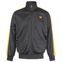 Tapout Zipped Track, kurtka dresowa męska, czarna
