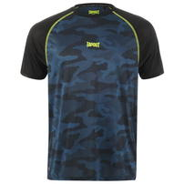 Tapout Active Camo koszulka męska, niebieska