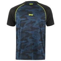 Tapout Active Camo, koszulka męska, niebieska