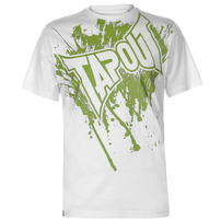 Tapout Logo Tee koszulka męska, biała, Rozmiar S