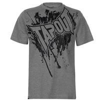 Tapout Logo Tee koszulka męska, szara