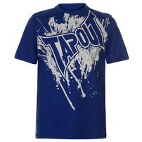 Tapout Logo Tee koszulka męska, niebieska