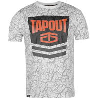 Tapout Chevron koszulka męska, biała, Rozmiar XL
