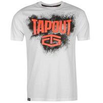 Tapout Placement koszulka męska, biała