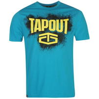 Tapout Placement koszulka męska, niebieska