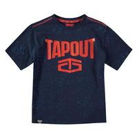 Tapout Power, koszulka dla chłopca, granatowa