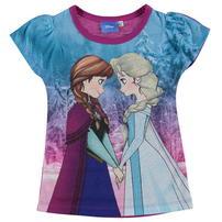 Character Sub koszulka dla dziewczynki, Disney Frozen