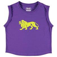 Lonsdale Boxy koszulka dla dziewczyny, fioletowa
