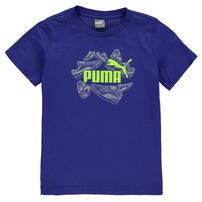 Puma Trainer QTT koszulka dla chłopca, królewska