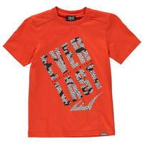 Everlast T Shirt, koszulka dla chłopców, czerwona