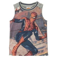 Koszulka bez rękawów dla chłopców, Character Spiderman