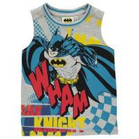Koszulka bez rękawów dla chłopców,Character Batman