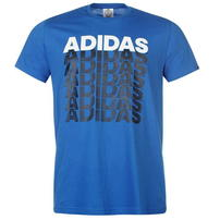 Adidas Repeated Linear, niebieska
