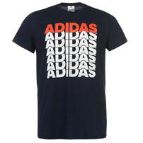 Adidas Repeated Linear, granatowa