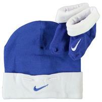 Nike czapka i skarpetki niemowlęce, niebieskie