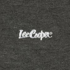 Lee Cooper Short Sleeve, koszulka męska, Charcoal, Rozmiar S