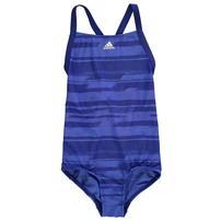 Adidas AOP, strój kąpielowy, niebieski