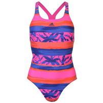 Adidas Fit All Over Print, strój kąpielowy, wzorzysty