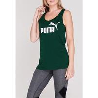 Puma No 1 Tank, koszulka damska, bez rękawów, zielona