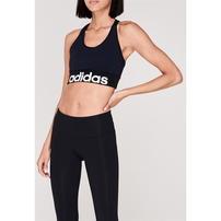 Adidas Logo, stanik sportowy, granatowy
