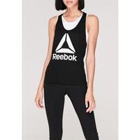 Reebok Logo Tank Top, koszulka damska, czarna