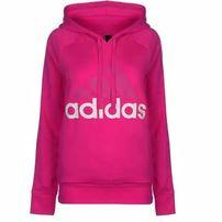 Adidas Linear OTH, bluza damska z kapturem, różowa