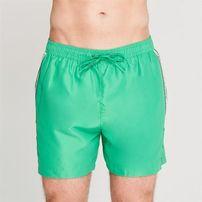 Calvin Klein, Klein Taped, spodenki kąpielowe, zielone